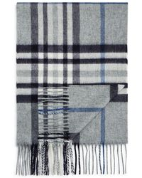 Bloomingdale's - Cashmere Exploded Plaid Scarf - Lyst