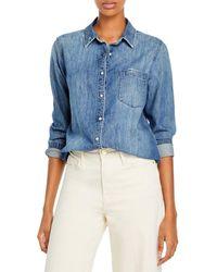 DL1961 Mercer & Spring Denim Shirt - Blue