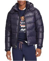Polo Ralph Lauren - Luminaire Down Hooded Jacket - Lyst