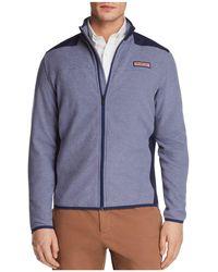 Vineyard Vines - Fleece Zip Hooded Jacket - Lyst