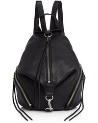 Rebecca Minkoff Julian Medium Backpack - Black