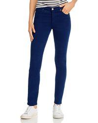 AG Jeans - Prima Brushed Color Wash Jeans - Lyst