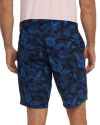 Robert Graham Voodoo Classic Fit Swim Shorts - Blue