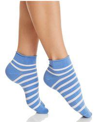 Kate Spade - Striped Ankle Socks - Lyst