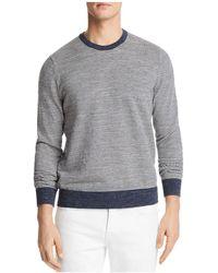 Bloomingdale's - Mini-stripe Crewneck Sweatshirt - Lyst