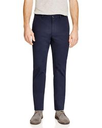 Theory - Zaine Witten Slim Fit Trousers - Lyst