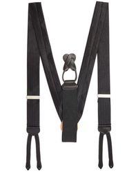 Trafalgar - Formal Herringbone Silk Brace - Lyst