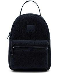 Herschel Supply Co. Nova Mini Sherpa Fleece Backpack - Black