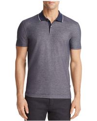 BOSS - Piket Tipped Polo Shirt - Lyst