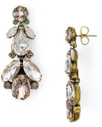 Sorrelli Pine Drop Earrings - Multicolour