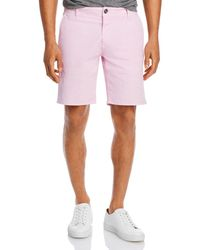Rodd & Gunn The Peaks Cotton - Blend Over - Dyed Classic Fit Shorts - Pink