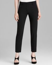 Armani - Trouser - Cropped Wool - Lyst