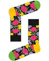 Happy Socks - Andy Warhol Floral Socks - Lyst