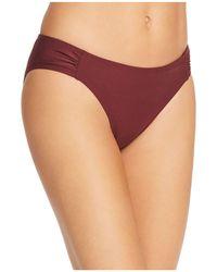 Kate Spade - Shirred-side Bikini Bottom - Lyst