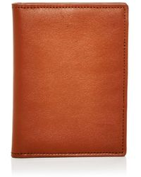 Shinola - Leather Passport Wallet - Lyst