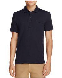 Billy Reid - Smith Short Sleeve Polo Shirt - Lyst