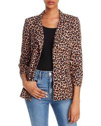 Likely Amelia Leopard - Print Blazer - Multicolor