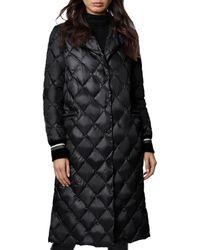 Dawn Levy Dawn Diamond - Quilted Coat - Black