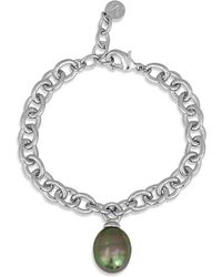 Majorica - Simulated Pearl Bracelet - Lyst