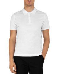 ATM Atm Anthony Thomas Melilo Classic Fit Polo Shirt - White