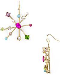 R.j. Graziano - Starburst Drop Earrings - Lyst