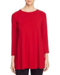 Eileen Fisher - Tunic Top - Lyst