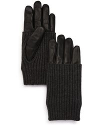 Echo - Convertible-cuff Tech Gloves - Lyst