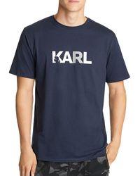 Karl Lagerfeld Karl Tee - Blue