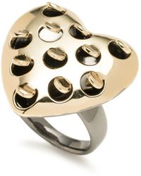 Alexis Bittar | Alexis Bitter Heart Cocktail Ring | Lyst