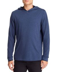 Theory - Daulton Double - Layer Hoodie - Lyst