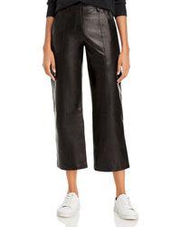Anine Bing Leah Cropped Pants - Black