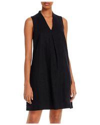 Tommy Bahama Sleeveless Shift Dress - Black