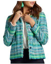 Basler Multi - Tweed Jacket - Green