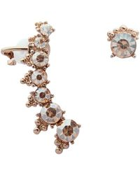 Marchesa - Mismatch Crawler Earrings - Lyst
