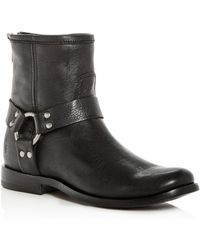 Frye - Women's Phillip Leather Moto Boots - Lyst