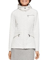 BCBGeneration - Quilted Hooded Anorak - Lyst