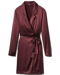 La Perla - Silk Reward Short Robe - Lyst