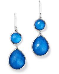 Ippolita - Sterling Silver Wonderland Mother - Of - Pearl Doublet Drop Earrings - Lyst