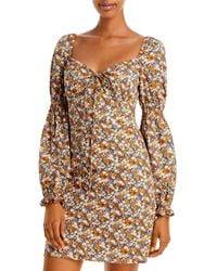 Bardot Clarissa Floral Print Mini Dress - Multicolour