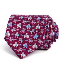 Ferragamo | Regal Horse & Elephant Classic Tie | Lyst