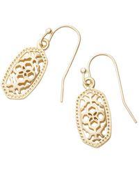 Kendra Scott - Lee Filigree-inspired Earrings - Lyst