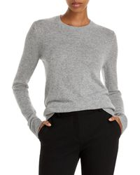 Theory Featherweight Cashmere Jumper - Grey