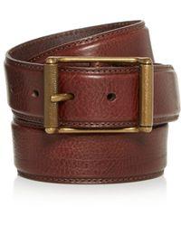 Frye - Men's Logan Leather Belt - Lyst