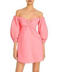 A.L.C. - Mila Off The Shoulder Mini Dress - Lyst