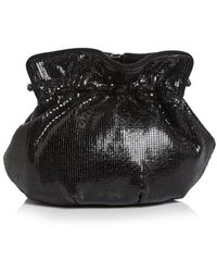Sondra Roberts Framed Chainmail Pouch - Black