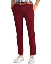 9570f922e8b Lyst - Ralph Lauren Polo Custom-fit Corduroy Trousers in Black for Men