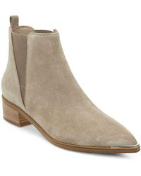 Marc Fisher Yale Chelsea Booties - Brown