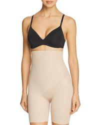 Tc Fine Intimates Tummy Tux High - Waist Thigh Slimmer Shorts - Natural