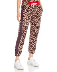 Monrow - Leopard Print Sweatpants - Lyst