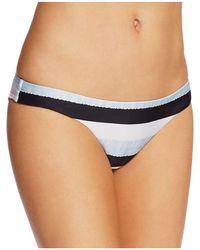 ViX - Sea Glass Stripe Bikini Bottom - Lyst